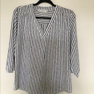 Jon & Anna striped blouse.